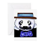 Gondolier Panda Greeting Cards (Pk of 10)