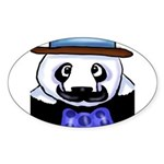 Gondolier Panda Sticker