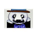 Gondolier Panda Rectangle Magnet