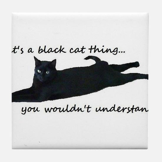 Unique Cat Tile Coaster