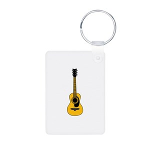 Acoustic Guitar Keychains Cafepress