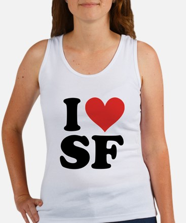 I Heart Personalized Tank Top