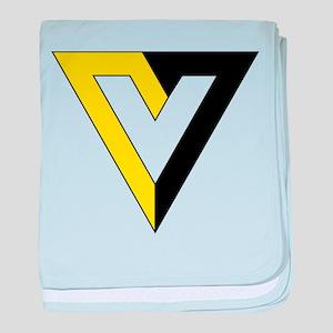 Voluntaryism baby blanket