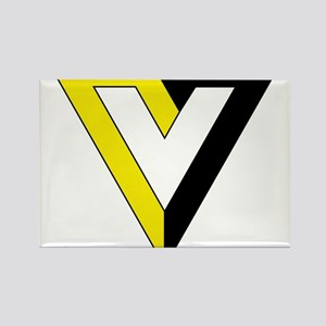 Voluntaryism Rectangle Magnet