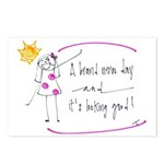 Positive Attitude Postcards (Package of 8)
