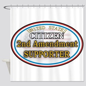Citizen Supporter Shower Curtain