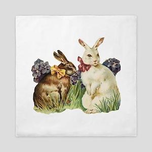Easter Rabbits Queen Duvet