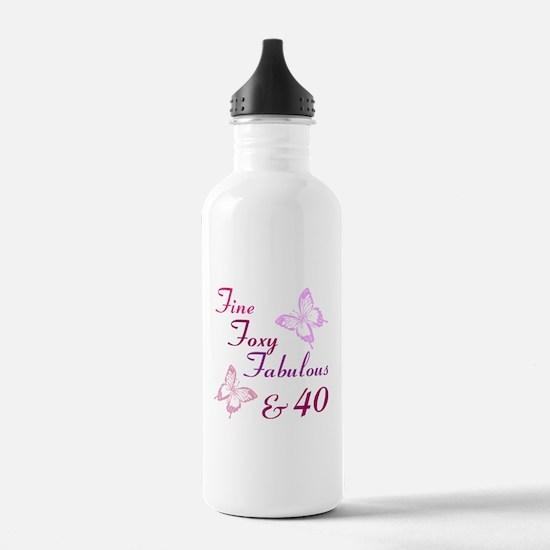 Fine 40 (9) Water Bottle