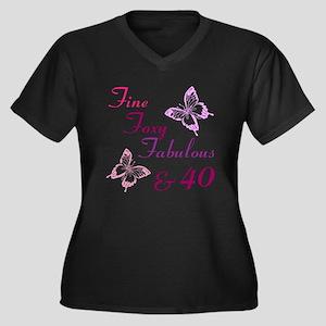 Fine 40 (9) Plus Size T-Shirt