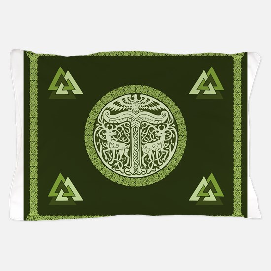 Cool Norse viking Pillow Case