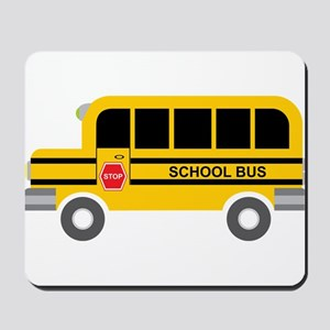 School Bus Mousepad