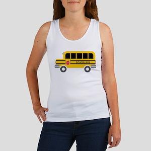School Bus Tank Top