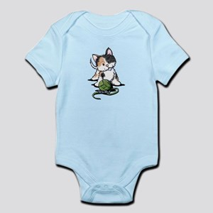 Playful Calico Kitten Infant Bodysuit