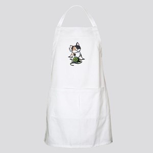 Playful Calico Kitten Apron