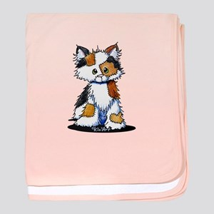 Calico Patches baby blanket