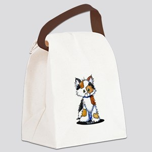Calico Patches Canvas Lunch Bag