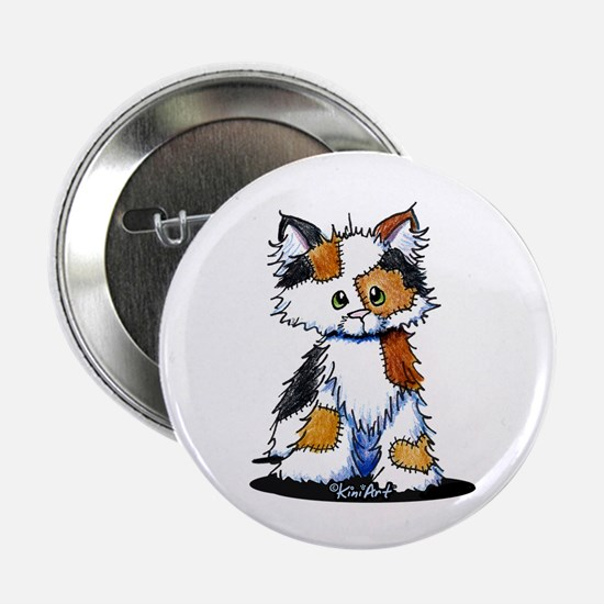 "Calico Patches 2.25"" Button"