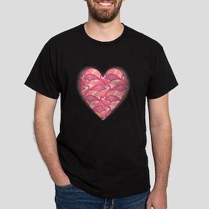 Hawaiian Heart Dark T-Shirt
