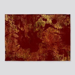 Bloody 5'x7'Area Rug
