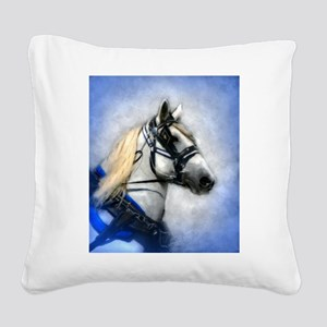 OUT OF THE BLUE Square Canvas Pillow