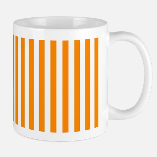 Orange Stripes Mug