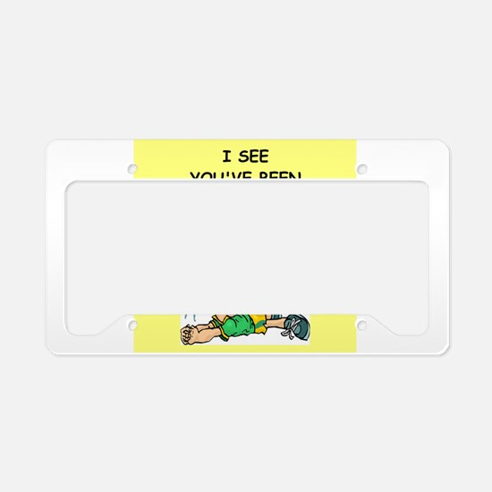 volley2 License Plate Holder