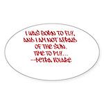 Petra V's Signature Quote Sticker