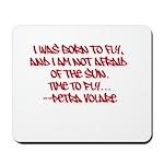 Petra V's Signature Quote Mousepad