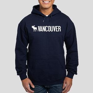 Vancouver Moose Hoodie (dark)