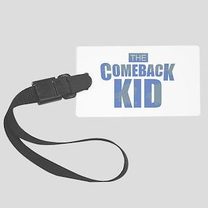 The Comeback Kid - Blues Large Luggage Tag