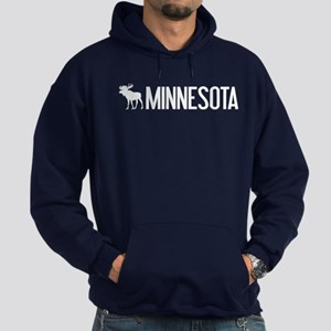 Minnesota Moose Hoodie (dark)