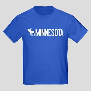 Minnesota Moose Kids Dark T-Shirt