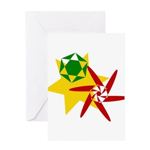 Rastafarian greeting cards cafepress m4hsunfo