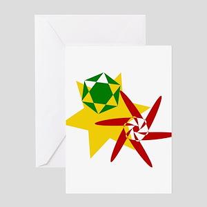 Rasta kids greeting cards cafepress rastafarian colors greeting card m4hsunfo