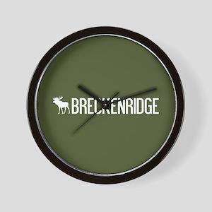Breckenridge Moose Wall Clock