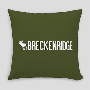 Breckenridge Moose Everyday Pillow