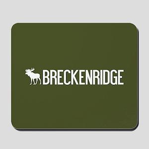 Breckenridge Moose Mousepad