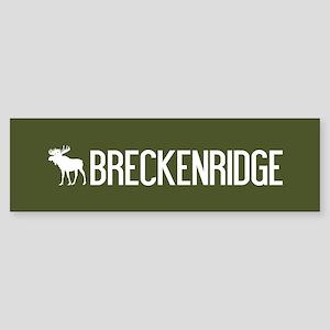 Breckenridge Moose Sticker (Bumper)