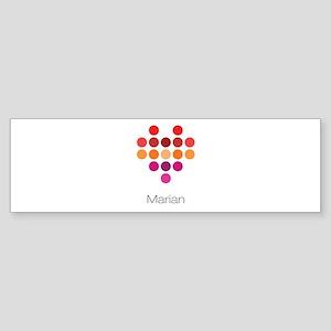 I Heart Marian Bumper Sticker