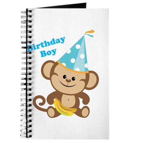 Birthday Boy Monkey Journal