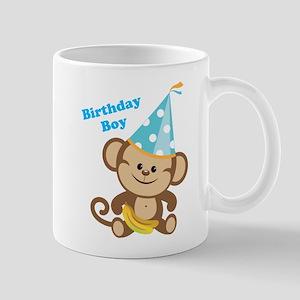 Birthday Boy Monkey Mug