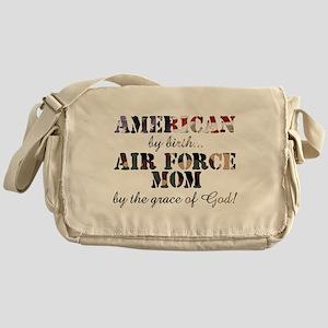 AF Mom by grace of God Messenger Bag