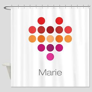 I Heart Marie Shower Curtain