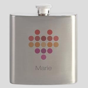 I Heart Marie Flask