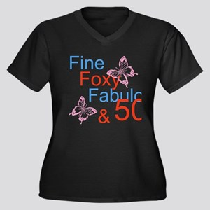 Fine 50 Plus Size T-Shirt