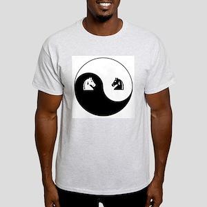 Knight-Knight yin yang Light T-Shirt