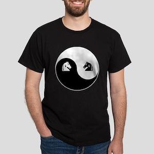 Knight-Knight yin yang Dark T-Shirt