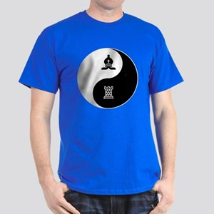 Bishop-Rook yin yang Dark T-Shirt