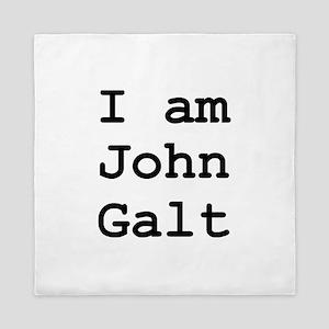 I am John Galt 01 Queen Duvet