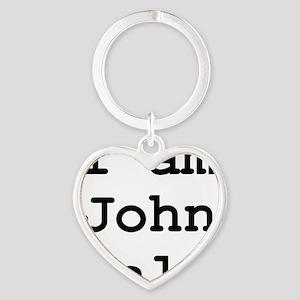 I am John Galt 01 Heart Keychain